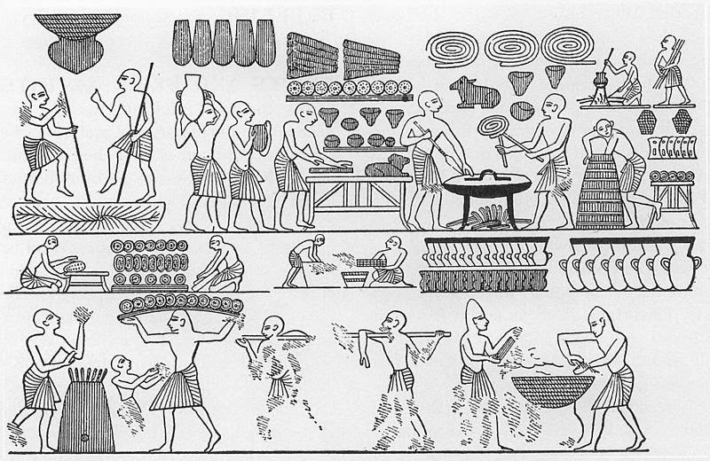The Historical Cooking Project : Ancient Egyptian Bread, by Miguel Esquirol  Rios